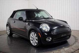 Used 2010 MINI Cooper Convertible CONVERTIBLE A/C MAGS for sale in St-Hubert, QC