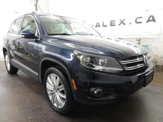 Used 2017 Volkswagen Tiguan 4MOTION CUIR TOIT PANOR. MAGS 18 CAMERA for sale in St-Eustache, QC