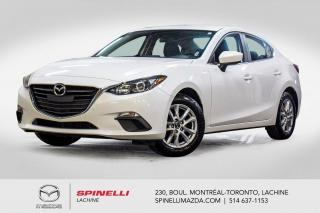 Used 2016 Mazda MAZDA3 GS Auto Sieges Chauffants Bluetooth Mazda 3 2016 GS Auto for sale in Lachine, QC