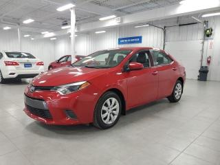 Used 2016 Toyota Corolla LE - CAMERA + SIEGES CHAUFFANTS + JAMAIS ACCIDENTE for sale in St-Eustache, QC