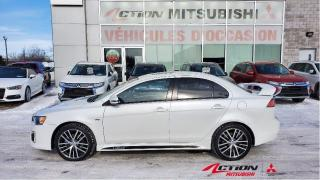Used 2017 Mitsubishi Lancer GTS+CUIR+TOIT+ROCKFORD FOSGATE+MAGS 18+AIR CLIMATI for sale in St-Hubert, QC