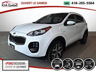 Used 2017 Kia Sportage SX* TURBO* AWD* TOIT PANO* GPS* CUIR* for sale in Québec, QC
