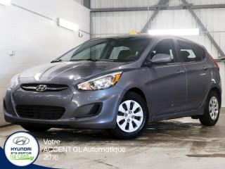 Used 2016 Hyundai Accent GL 5 PORTES AUTOMATIQUE for sale in Val-David, QC