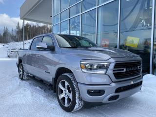 Used 2020 RAM 1500 SPORT , CREW , DIFF 3.92 , ECRAN 8.4'' for sale in Ste-Agathe-des-Monts, QC