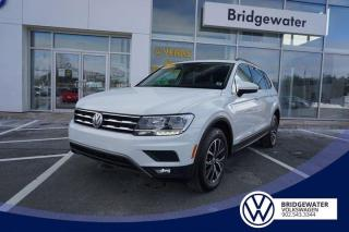Used 2018 Volkswagen Tiguan COMFORTLINE for sale in Hebbville, NS