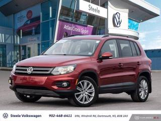 Used 2016 Volkswagen Tiguan COMFORTLINE for sale in Dartmouth, NS