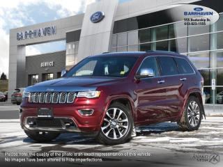 Used 2018 Jeep Grand Cherokee Overland for sale in Ottawa, ON