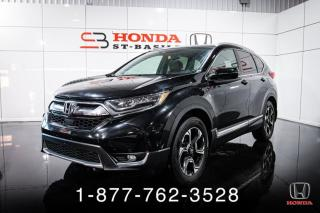 Used 2017 Honda CR-V TOURING + AWD + NAVI + CUIR + TOIT + WOW for sale in St-Basile-le-Grand, QC