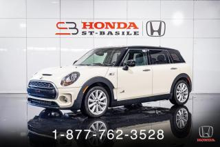 Used 2017 MINI Cooper Clubman S + ALL4 + CUIR + TOIT PANO + MAGS + WOW for sale in St-Basile-le-Grand, QC