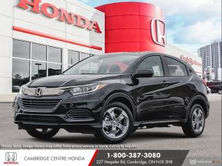 New 2021 Honda HR-V LX REARVIEW CAMERA | APPLE CARPLAY™ & ANDROID AUTO™ | HONDA SENSING TECHNOLOGIES for sale in Cambridge, ON