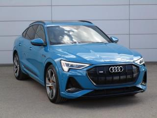 New 2021 Audi e-tron 55 Technik ZEV with no compromise on Luxury for sale in Regina, SK