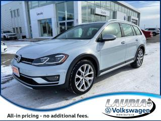 Used 2018 Volkswagen Golf Alltrack 4Motion AWD - Leather / Panoramic sunroof for sale in PORT HOPE, ON