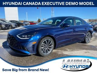 Used 2020 Hyundai Sonata 2.5T Ultimate - EXECUTIVE DEMO for sale in Port Hope, ON