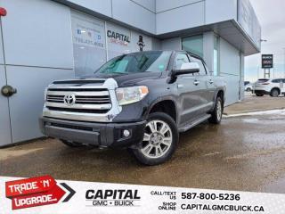 Used 2015 Toyota Tundra Platinum 4WD SUNROOF NAV HEATED / COOLED LEATHER for sale in Edmonton, AB