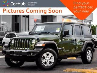 New 2021 Jeep Wrangler Sahara 80th Anniversary|LED|Safety Grp|Cold Weather Grp for sale in Thornhill, ON