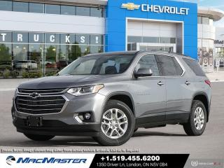 New 2021 Chevrolet Traverse LT Cloth V6 | AWD | REMOTE START | 7 PASSENGER | BLIND SPOT SENSOR | HEATED SEATS for sale in London, ON
