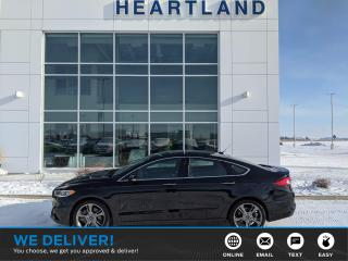 Used 2017 Ford Fusion V6 Sport REMOTE START | BACK UP CAMERA | HEATED SEATS | NAVIGATION | AWD-USED EDMONTON FORD DEALER for sale in Fort Saskatchewan, AB