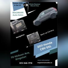 Used 2011 Honda CR-V EX-L w/Navi for sale in Kingston, ON