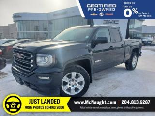 Used 2018 GMC Sierra 1500 Elevation 4x4 Double Cab | Touchscreen | Remote Start for sale in Winnipeg, MB