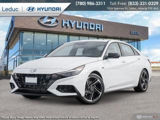 New 2021 Hyundai Elantra N LINE for sale in Leduc, AB