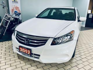 Used 2012 Honda Accord EX-L I SUNROOF I LEATHER I ALLOY I CERTIFIED$8999 for sale in Brampton, ON