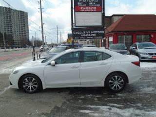 Used 2015 Acura TLX TECH PKG /LEATHER / NAV / REAR CAM / HEATED WHEEL for sale in Scarborough, ON