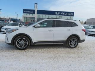 Used 2017 Hyundai Santa Fe XL LIMITED/PANO ROOF/HEAT&COOLED SEATS/NAV/LEATHER for sale in Edmonton, AB