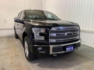 Used 2016 Ford F-150 PLATINUM w/3.5L ECOBOOST, ADAPTIVE CRUISE, MAX TRAILER TOW PKG for sale in Huntsville, ON