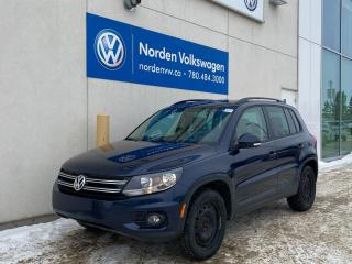 Used 2012 Volkswagen Tiguan COMFORTLINE - SUNROOF / HTD LEATHER SEATS / BACKUP CAM for sale in Edmonton, AB