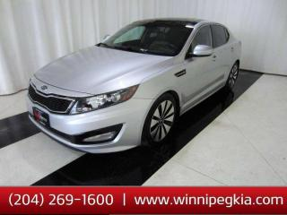 Used 2011 Kia Optima Turbo SX *Loaded w/ Pano. Sunroof, Heated Front and Rear Seats and More!* for sale in Winnipeg, MB