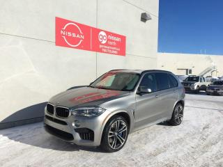Used 2017 BMW X5 M X5 / M / Soft Close Doors / HUD / Carbon Fiber Trim / Roof / Nav / Heated and Cooled Seats / Heated Wheel / Rear Window Shades for sale in Edmonton, AB