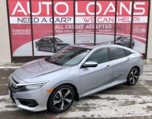 Used 2017 Honda Civic TOURING-ALL CREDIT ACCEPTED for sale in Toronto, ON