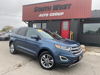 Used 2018 Ford Edge SEL AWD|NAVI|BackUp|Htd Lthr Seats|Pwr LiftGate for sale in London, ON