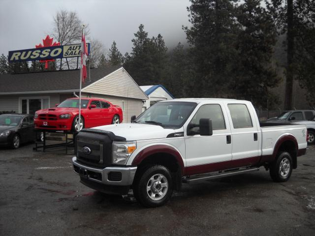 2011 Ford F-250 CREW CAB 6ft 6in BOX 4X4