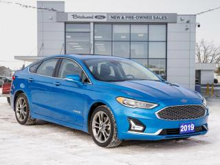 Used 2019 Ford Fusion Hybrid Titanium CLEAN CARFAX | NAV | ROOF for sale in Winnipeg, MB
