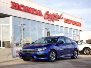 Used 2018 Honda Civic LX | APPLE CARPLAY | LOCAL for sale in Winnipeg, MB