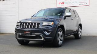 Used 2015 Jeep Grand Cherokee Limited for sale in Victoria, BC