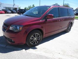 Used 2018 Dodge Grand Caravan GT - Power Sliding Doors/Leather/Camera/Bluetooth for sale in Winnipeg, MB