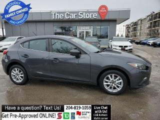 Used 2016 Mazda MAZDA3 SPORT GS Htd Seats Rear Cam Bluetooth NO ACCIDENTS for sale in Winnipeg, MB