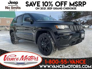 New 2021 Jeep Grand Cherokee Altitude 4x4...HTD SEATS*TOW*SUNROOF! for sale in Bancroft, ON
