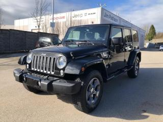 Used 2018 Jeep Wrangler JK Unlimited Sahara for sale in Surrey, BC