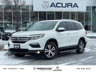 Used 2016 Honda Pilot EX-L RES AWD for sale in Markham, ON