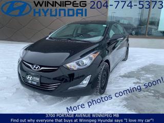 Used 2016 Hyundai Elantra Limited for sale in Winnipeg, MB