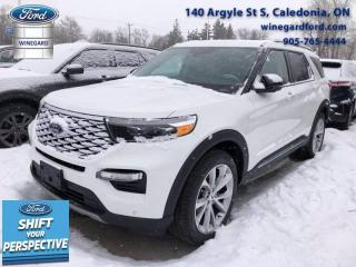 New 2021 Ford Explorer Platinum for sale in Caledonia, ON