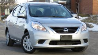 Used 2014 Nissan Versa 4dr Sdn I4 1.6 | LOW KM |GREAT CONDITION for sale in North York, ON