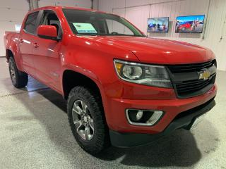 Used 2016 Chevrolet Colorado Z71 Crew Cab 4WD Long Box #Level Kit #Duratrac Tires #Touch Screen #Bluetooth for sale in Brandon, MB