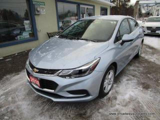 Used 2018 Chevrolet Cruze LIKE NEW LT EDITION 5 PASSENGER 1.4L - TURBO.. HEATED SEATS.. BACK-UP CAMERA.. BLUETOOTH SYSTEM.. TOUCH SREEN DISPLAY.. KEYLESS ENTRY.. for sale in Bradford, ON