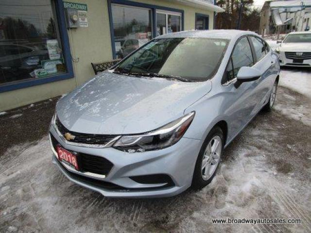 2018 Chevrolet Cruze LIKE NEW LT EDITION 5 PASSENGER 1.4L - TURBO.. HEATED SEATS.. BACK-UP CAMERA.. BLUETOOTH SYSTEM.. TOUCH SREEN DISPLAY.. KEYLESS ENTRY..