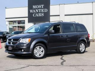 Used 2019 Dodge Grand Caravan CREW PLUS|7 PASS|PWR TAILGATE & SLIDING DOORS|REAR DVD PLAYER|NAV|ALLOYS for sale in Kitchener, ON