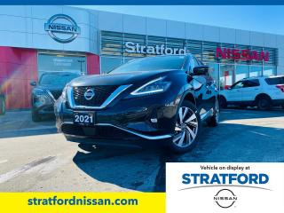 New 2021 Nissan Murano SL AWD for sale in Stratford, ON